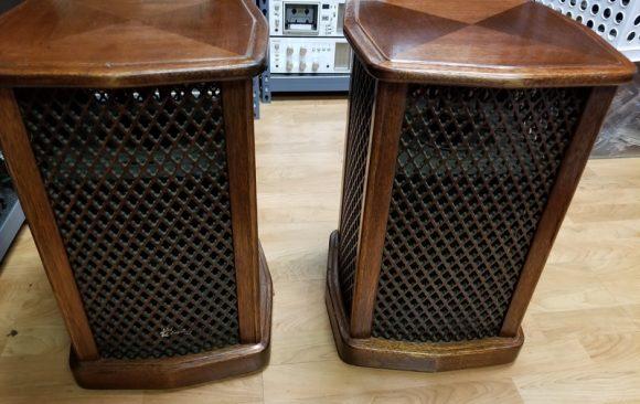 Sansui SF-1 Omni-Radial Speakers